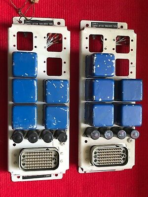 Lycoming Bell UH1 T53-L-13 Engine fuel control relay panels