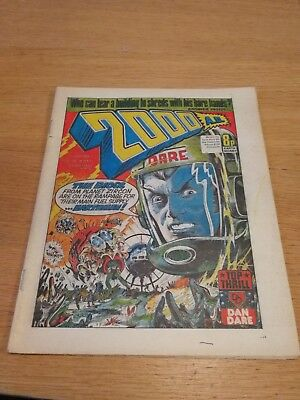 Rare 1977 2000AD Prog 7 - Good Condition