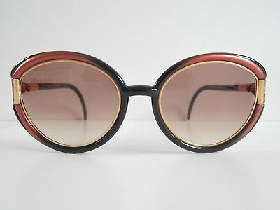 """""""ted Lapidus Paris""""special Oversized Sunglasses *never Used*old Stock!trendy"""