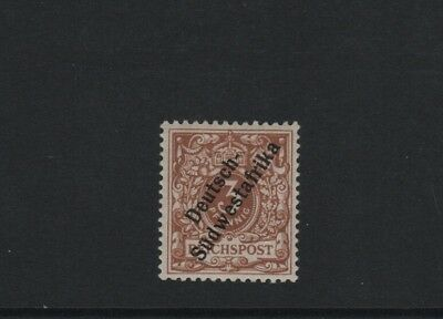 German colonies. South west Africa. Michel 5b. NH, signed BPP