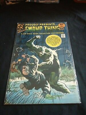 DC Proudly Presents  Original Swamp Thing #1 1977 Bernie Wrightson Comic