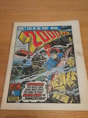 2000AD Prog 6, 2nd April 1977, good condition