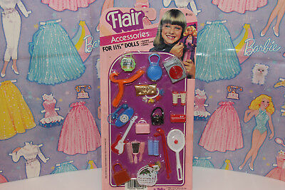 Mixed Lot Flair 1983 Accessories by Totsy for Barbie, Miss Flair & Sandi NOS