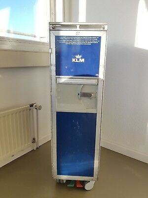 Flugzeugtrolley, Airlinetrolley, KLM, Half Size Trolley, Airline Service Cart