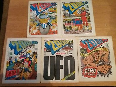 2000ad prog 61 - 65 - good condition