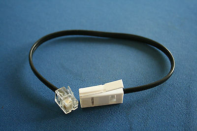 Replacement BT line cord / cable for BT 3580 Cordless Telephone. New