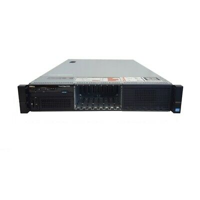 Dell PowerEdge R720 8B SFF 16-Core 2.40GHz E5-2665 H710P 2x PSU No RAM or HDD
