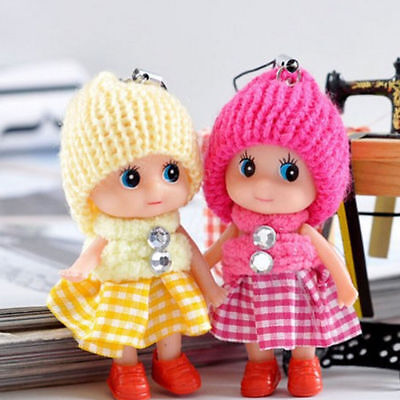 5Pcs Kids Toys Soft Interactive Baby Dolls Toy Mini Doll For Girls Cute Gift SY8
