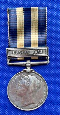 Victoria - Egypt Medal 1882-89 with Suakin 1885 Clasp