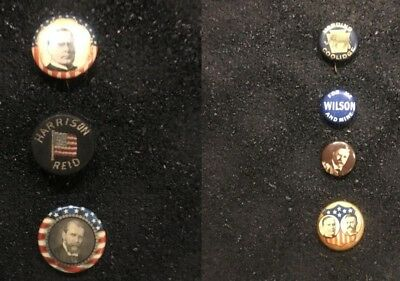 650+ Vintage Presidential & 3rd Party Campaign Buttons, Stickers (1872-2008)