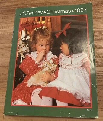 Vintage 1987 JC Penney Christmas Catalog Wish Book Kids Toys Fashion