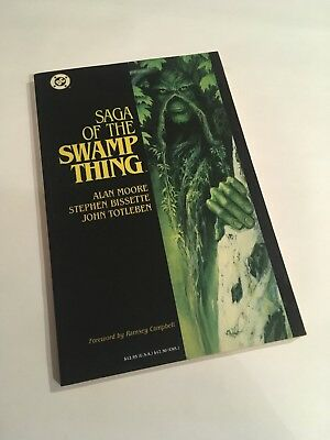 Saga of the Swamp Thing - Graphic Novel (Alan Moore)