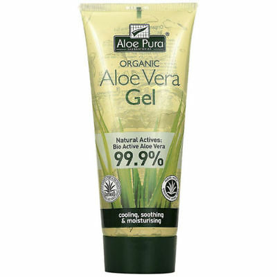 Aloe Pura Aloe Vera Organic Gel with Vitamins A C & E 200ML