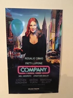 Company- The Musical Theatre Poster