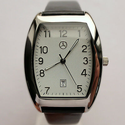 Mercedes Benz Men's Women's Classic Car Accessory Made in Germany Design Watch