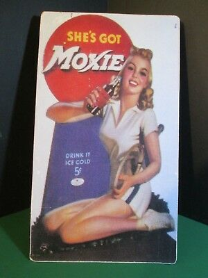 Moxie standup tennis girl advertisement