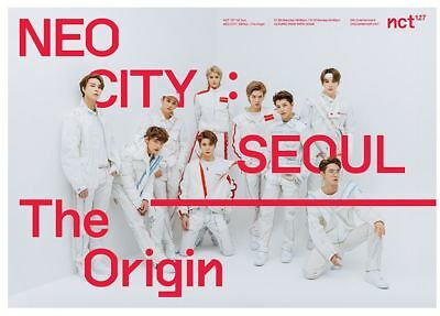 NCT 127 1st Tour NEO CITY SEOUL The Origin OFFICIAL GOODS STICKY ROLL TAPE NEW