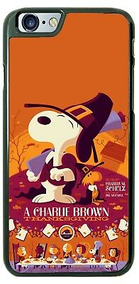 A Charlie Brown Thanksgiving Phone Case Cover for iPhone Xs Max Samsung 9 LG etc