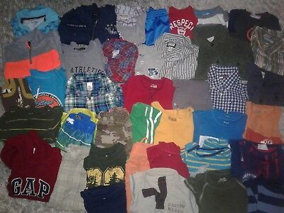 Lot 39 baby boys clothes 12m - 2T Tommy Hilfiger CK Adidas Osh Kosh Versace +++