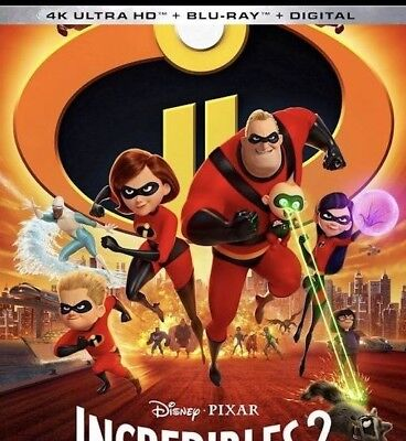 The Incredibles 2 (Blu-ray + DVD, 2018 + Digital Code)