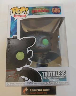 Funko Pop! Movies 686 How to Train Your Dragon Toothless Pop Vinyl Figure