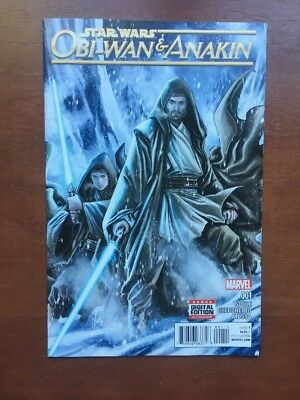 Star Wars: Obi-Wan and Anakin #1 (2016) 9.2 NM Marvel Key Issue Comic Book