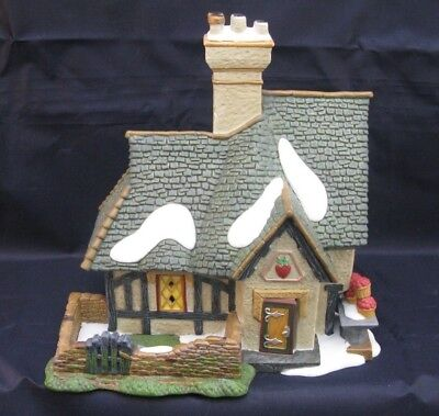 Department 56-Dickens Village Series-Strawberry Cottage #403-0356 in orig box