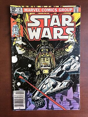 Star Wars #52 (1981) 7.5 VF Marvel Key Issue Comic Book Bronze Age Newsstand