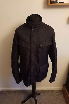 Quilted Barbour International Jacket Size XL