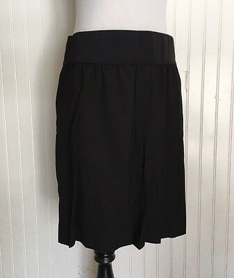NEW GAP Maternity Black Skirt Women's Size 10 Stretch Knee Length NWT