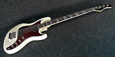 Hofner Hct-185-W Galaxie Style Long Scale Bass Guitar Great Vintage Uk Vibe