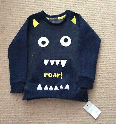 Brand New Boys Jumper Size 2-3 Years