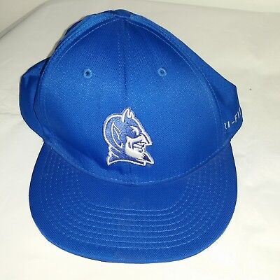 b424a21e0cc NIKE DUKE BLUE Devils Hat Cap Size 7-1 2 Dri Fit Embroidered -  9.99 ...