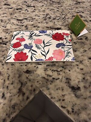 NWT Kate Spade New York Blossom Pencil Pouch MSRP $30