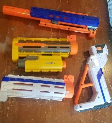 Lot of 4 Nerf Dart Gun Blaster Parts or Accessories