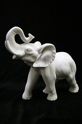 "7.5"" Lucky Elephant Italian Statue Vittoria Collection Made in Italy"