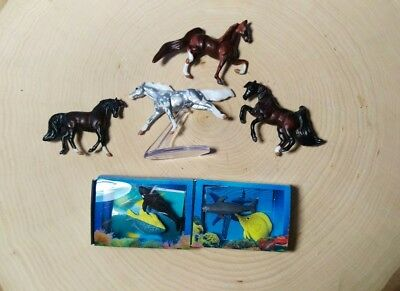 Breyer Sterling Lot of Mini Whinnies Pocket Box Surprise Orca Humpback Whale