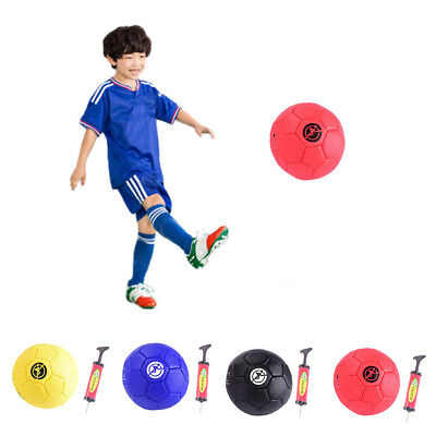 Kids Soccer Ball Size 2 with Pump for Kids Beginners Play Excercise