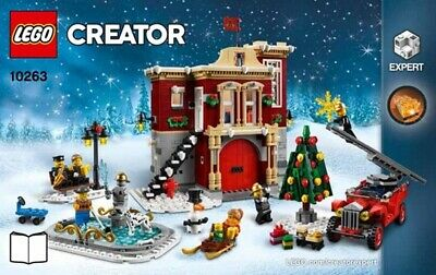 Lego 10263 Set Winterliche Feuerwehrstation Winter Village Fire Station NEW