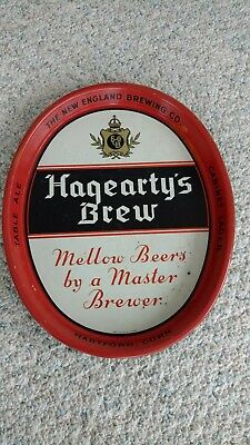 Hagearty's Brew Serving Tray, Hartford, Conn. 1933-1936 New England Brewing Co.