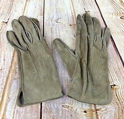 Original WW2 US ARMY Gloves of MEYERS Make 1940s Size 9,5 mens