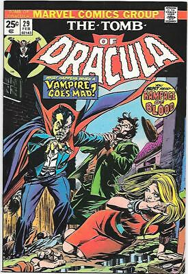 Tomb of Dracula #29, Marvel 1974 Wolfman story, Colan/Palmer art NM