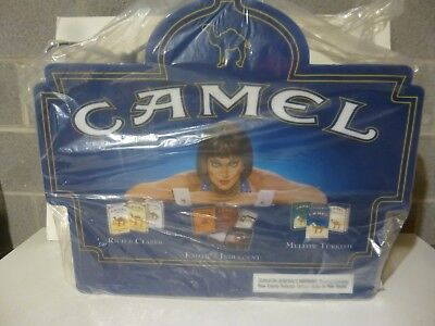 New Camel Cigarettes 2 Sided Large Lighted Sign Advertising Display Tobacco
