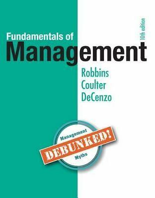 **PDF EDITION** Fundamentals of Management (10th Edition) by Robbins, Stephen
