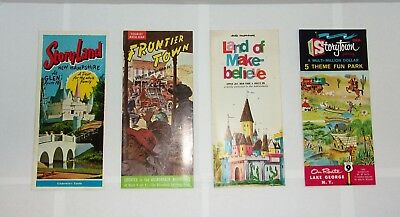 Vintage ~ Theme Park ~ Brochure ~ StoryTown ~ Land of Make Believe & MORE