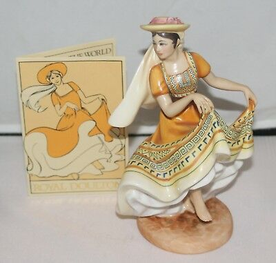 "Royal Doulton Figurine - DANCERS OF THE WORLD ""MEXICAN DANCER"" HN 2866"
