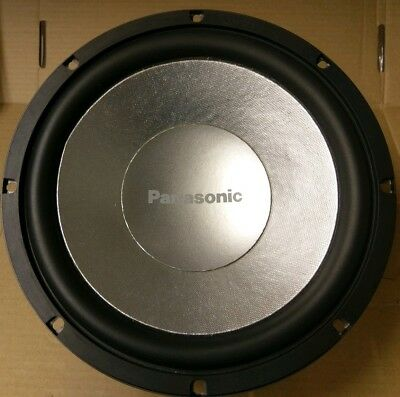 "Panasonic CJ-HD252 10"" Car Audio Subwoofer Sub 22Hz - 3kHz (-10dB)"