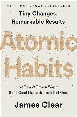 Atomic Habits An Easy & Proven Way to Build Good Habit James Clear Hardcover NEW