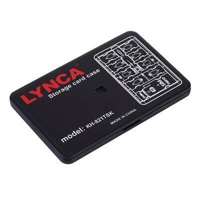 Memory Card Storage Case Holder 16 Slot Micro SD TF SIM Nano Carrying Pouch New