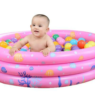 Portable Inflatable Swimming Pool Summer Baby Water Play Bath Pool # Y j
